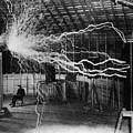 Nikola Tesla 1856-1943 Created A Double by Everett