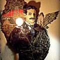 Nikola Tesla At Wardenclyffe by Corey Jenny