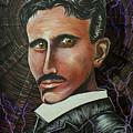 Nikola Tesla by Doug LaRue