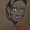 Nina Mae -- African-american Actress Portrait by Jayne Somogy