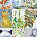 Nine Animals - Version 1 by Fabrizio Cassetta