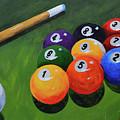 Nine Ball by Herschel Fall