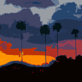 Nine Palms by David Lee Thompson