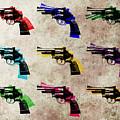 Nine Revolvers by Michael Tompsett