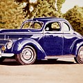 Nineteen Thirty Eight Ford Coupe by John Houseman