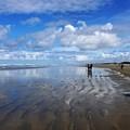 Ninety Mile Beach New Zealand by Heidi Fickinger