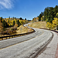 Nm Hwy 64 In The San Juan Mountains by Robert Woodward