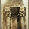 Egyptian Temple No 4 by Robert G Kernodle