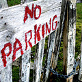 No Parking by Sheryl R Smith