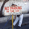 No Parking This Side 2 by Jez C Self