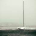 No Sailing Today Bw Green Tint by Jerry Fornarotto