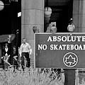 No Skateboarding by Brian Wallace