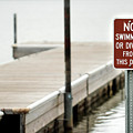 No Swimming Or Diving by Heather Ellis