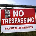 No Trespassing And ... by Tianxin Zheng