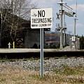 No Trespassing Sign by Ben Schumin