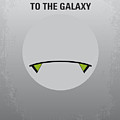 No035 My Hitchhiker Guide minimal movie poster by Chungkong Art