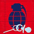 No477 My Raising Arizona Minimal Movie Poster by Chungkong Art