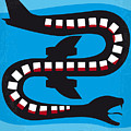 No501 My Snakes On A Plane Minimal Movie Poster by Chungkong Art