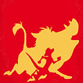 No512 My The Lion King Minimal Movie Poster by Chungkong Art