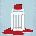 No748 My American Gangster Minimal Movie Poster by Chungkong Art
