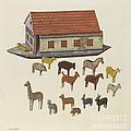 Noah's Ark And Animals by Ben Lassen