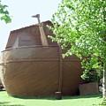 Noah's Ark At The Jerusalem Zoo by Susan Heller