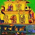 Noahs Ark From My Point by Deborah Selib-Haig DMacq
