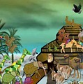 Noah's Ark by Sher Magins