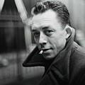 Nobel Prize Winning Writer Albert Camus Unknown Date #2 -2015 by David Lee Guss