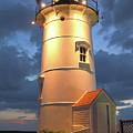 Nobska Point Lighthouse by Roupen  Baker