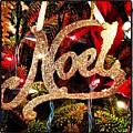 Noel Ornament by Artie Rawls