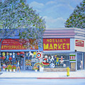Noelia's Market by Miguel A Chavez