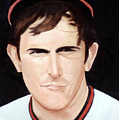 Nolan Ryan With The Angels by Rosario Piazza