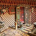 Nomad Yurt by Dan Bijan