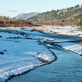 Nooksack River On A December Afternoon by Tom Cochran