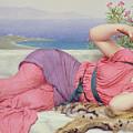 Noon Day Rest by John William Godward