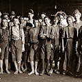 Noon Hour Workers In Enterprise Cotton Mill by Celestial Images