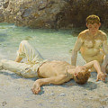 Noonday Heat by Henry Scott Tuke