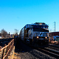 Norfolk Southern Engine 9899 by William Rogers
