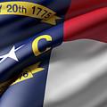 Norh Carolina State Flag by Enrique Ramos Lopez