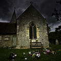 Norman Church At Lissing Hampshire England by Avalon Fine Art Photography