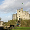 Norman Keep At Cardiff Castle by Rachel Morrison