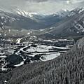Norquay Banff Town Views by Adam Jewell