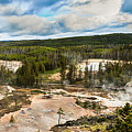 Norris Geyser Basin by Robert Bales