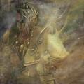 Norse Warrior by Barbara A Lane