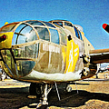 North American B-25j Mitchell - Color by Glenn McCarthy Art and Photography