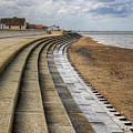 North Beach Heacham Norfolk by John Edwards