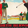 North Berwick, A London And North Eastern Railway Vintage Advertising Poster by Andrew Johnson