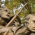 North Carolina Monument by Mick Burkey