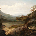 North Carolina Mountain Landscape by William Charles Anthony Frerichs